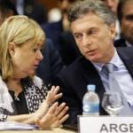 Malcorra trabaja en un tratado de libre comercio con USA