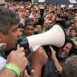 Moyano convoca a 50 mil camioneros para marchar contra Macri