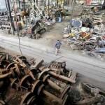 Venderán 40 mil toneladas de chatarra ferroviaria para recuperar terrenos fiscales