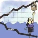 Inflación imparable: en abril fue de 7,1% y la interanual ya asciende al 42,9%