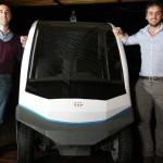Porteños salen a competir con Google luego de crear un vehículo que no requiere conductor