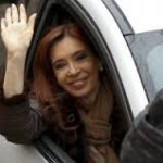 CFK y su visita fugaz por Comodoro Py