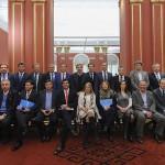 Los gobernadores vuelven a la Rosada para reanudar las negociaciones sobre la Coparticipación Federal