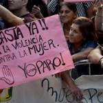 """""""No estamos todas"""": La marcha multitudinaria contra la violencia de género"""