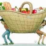 Los porteños pagan 18% más que el resto del país en productos alimenticios