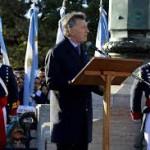 En el Día de la Bandera, Macri aseguró que la economía comenzó a crecer