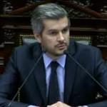 Peña dió el presente en Diputados y, entre chicanas, brindó información sobre la gestión del gobierno