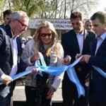 Ritondo y Massa, juntos en la inauguración de un nueva nueva sede de la Policía