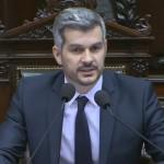 """Peña, en el Congreso, aseguró que """"no hay elementos concretos para confirmar que la de Santiago Maldonado es una desaparición forzada"""""""