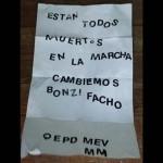 La Matanza: Mediante nota anónima, amenazaron nuevamente a Macri y a Vidal