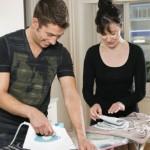 Empatía y división del trabajo hogareño, dos de las claves para mantener la armonía en la pareja
