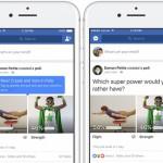"""Facebook incorpora encuestas que podrán ser """"decoradas"""" con fotos y Gifs"""