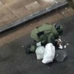 Detonaron de forma controlada explosivos caseros frente a la Central de Policía