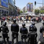 Desalojan a 500 manteros en Liniers