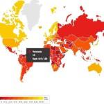 """Venezuela, el país menos transparente de América Latina según la ONG """"Transparencia Internacional"""""""