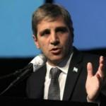 Por el incremento de la deuda externa, Caputo se presentará en el Congreso
