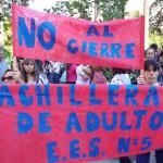 Preocupación en el Conurbano por el cierre de bachilleratos para adultos