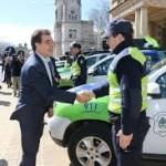 Ritondo entregó 227 móviles policiales que se distribuirán en el interior bonaerense