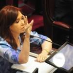 Cristina pide tratar un proyecto para suspender aumentos tarifarios
