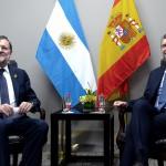 Expectativas por inversiones españolas: Rajoy llegó al país con una delegación de 70 empresarios