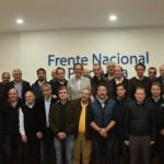 Con asado de por medio, intendentes peronistas se reunieron con Máximo K