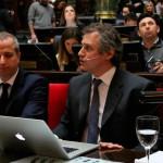 Felipe Miguel, el Jefe de Gabinete porteño, se presentó en la Legislatura para presentar el informe de gestión