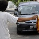 Seguridad: Trapitos y limpiavidrios, prohibidos desde mediados de enero