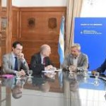 Frigerio recibió a los enviados del FMI