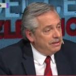 """Alberto Fernández: """"Si Macri me necesita, voy mañana a hablar con él"""""""
