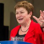 """La directora del FMI, Kristalina Georgieva, felicitó a Alberto Fernández: """"Espero colaborar con su gobierno"""""""