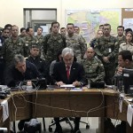 "Sebastián Piñera: ""Estamos en guerra"""