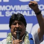 Elecciones en Bolivia:  Un conteo de votos da ganador a Evo Morales sin balotaje y Carlos Mesa denuncia fraude