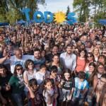 Jornada de recorrida y charlas por la Ciudad para cerrar la campaña de Lammens y Marziotta