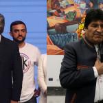 La crisis boliviana provoca un contrapunto  entre Fernández y Macri y complica la transición