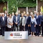 El Grupo de Puebla salió en apoyo de Evo y cruzó a la OEA