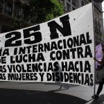 Marcha por el día por la eliminación de todas las formas de violencia hacia las mujeres y disidencias