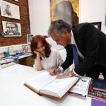 Cristina Kirchner, presidenta interina