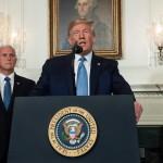 """Trump dice que ordenó matar a Soleimani con el fin de """"parar una guerra"""" y no para comenzarla"""