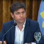 Axel Kicillof dispuso un aumento de $3.000 para los estatales bonaerenses