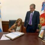 Presidenta por un día: la santiagueña Claudia Ledesma quedó a cargo del gobierno