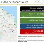 Cuáles son los 59 accesos a la Ciudad de Buenos Aires que cerrarán