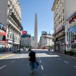 Buenos Aires vacía, tan real que parece ciencia ficción