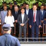 Kicillof nombró una nueva cúpula de la Policía Bonaerense