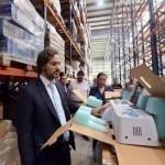 El Gobierno recuperó de un depósito del Correo Argentino material de salud abandonado por el macrismo