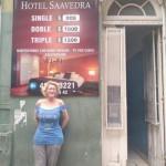 Ofelia Fernández denunció un desalojo en un hotel porteño