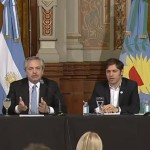 Alberto Fernández y Axel Kicillof presentaron la Cuenta DNI