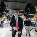 """Alberto Fernández en la planta de Volkswagen: """"La normalidad que conocimos no existe más"""""""