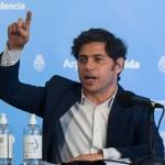 """Axel Kicillof: """"Estas políticas de restricción son lo contrario de lo que pienso que sirve para impulsar la economía"""""""