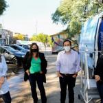 Banco Ciudad: Nuevo Cajero Movil en el barrio 1-11-14 del Bajo Flores