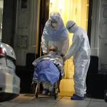 Evacuaron un geriátrico en Recoleta con 37 casos de Covid-19